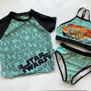 Disney Star Wars Swim Set